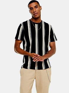 topman-stripe-t-shirt--nbspnavytan