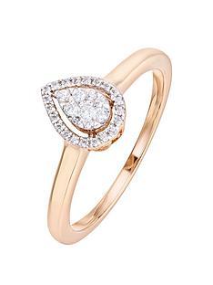 love-diamond-9ct-rose-gold-014ct-diamond-pear-ring