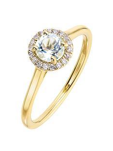 love-gem-9ct-yellow-gold-5mm-round-aquamarine-and-008ct-diamond-birthstone-halo-ring