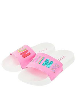 Accessorize   Girls Sunshine Slider - Pink