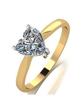 moissanite-moissanite-9ct-gold-100ct-heart-solitaire-ring