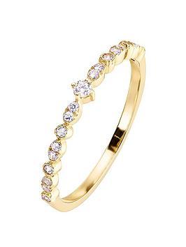 love-gold-9ct-yellow-gold-cubic-zirconia-half-eternity-ring