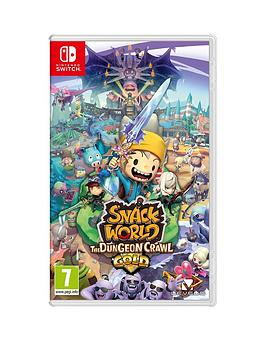 Nintendo Switch Nintendo Switch Snack World: The Dungeon Crawl Gold Picture