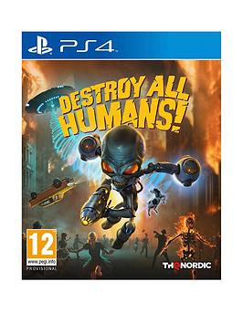 Playstation 4 Playstation 4 Destroy All Humans 1 Remake - Ps4 Picture