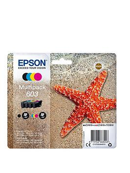 Epson   Starfish Ink Multipack 4-Colours 603 Ink