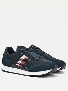tommy-hilfiger-corporate-material-mix-runner-trainers-navy