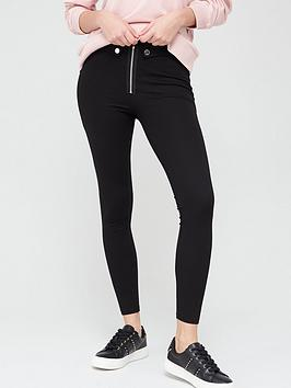 V by Very V By Very Zip Detail Legging - Black Picture