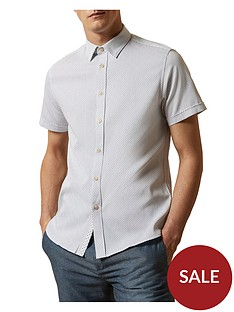 ted-baker-ted-baker-windo-textured-short-sleeve-shirt-white