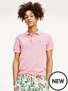 tommy-jeans-lightweight-polo-shirt-pink