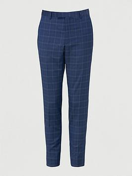 Ted Baker Ted Baker Maeve Sterling Check Suit Trousers - Blue Picture