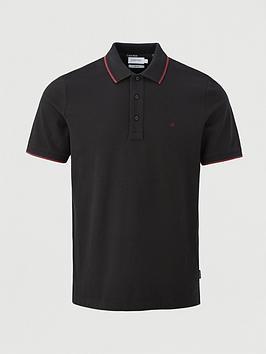 calvin-klein-stretch-tipping-slim-polo-shirt-black