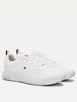 tommy-hilfiger-corporate-knit-rib-runner-trainers-white