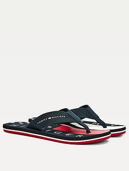 tommy-hilfiger-hilfiger-flag-beach-sandals-navy