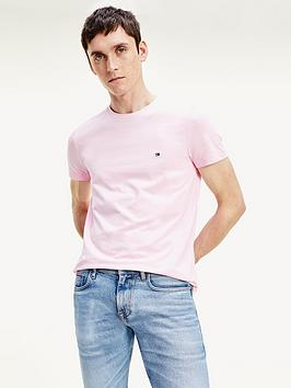 tommy-hilfiger-stretch-slim-fit-t-shirt-baby-pink