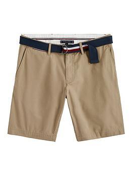 tommy-hilfiger-tommy-hilfiger-brooklyn-twill-shorts-with-belt