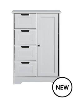 lloyd-pascal-portland-4-drawer-1-door-console-unit