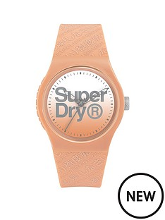 superdry-superdry-nude-faded-dial-with-nude-silicone-strap