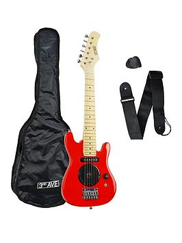 3rd-avenue-3rd-avenue-14-size-electric-guitar-red