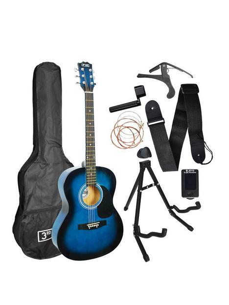 3rd-avenue-3rd-avenue-acoustic-guitar-premium-pack-blueburst