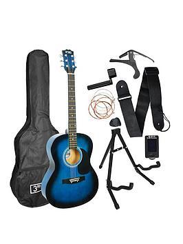 3rd Avenue  3Rd Avenue 3Rd Avenue Acoustic Guitar Premium Pack - Blueburst