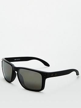 oakley-holbrook-xl-polarized-sunglasses-black