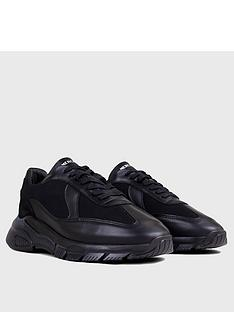 mercer-wooster-20-leather-trainers-black
