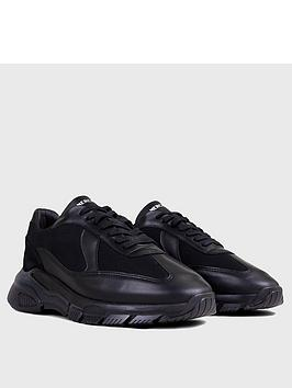 Mercer Mercer Wooster 2.0 Leather Trainers - Black Picture