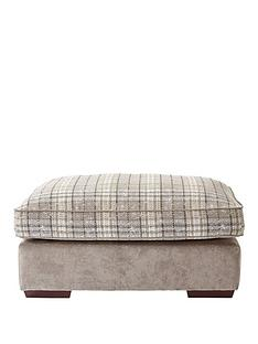 campbell-fabric-check-footstool