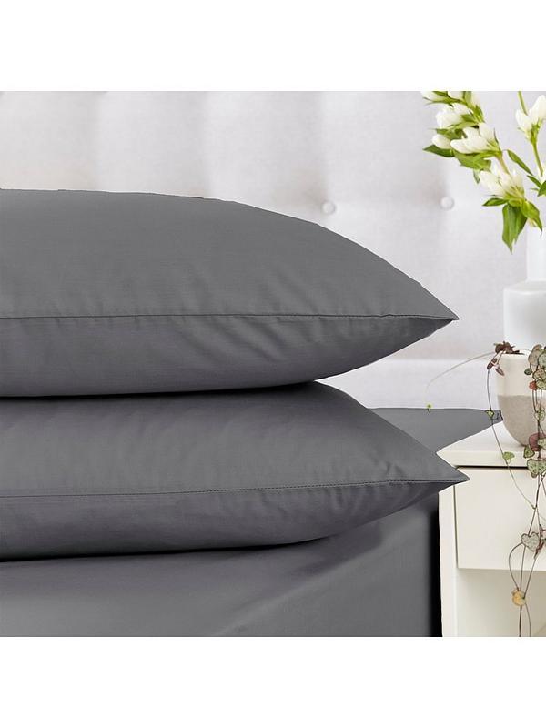 Silentnight Cotton Rich Pillowcase