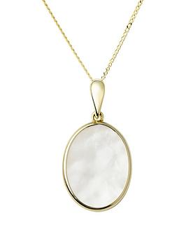 Emily & Ophelia Emily & Ophelia Emily & Ophelia 9Ct Gold Mother Of Pearl  ... Picture