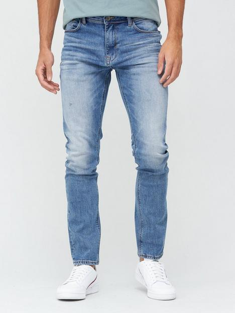 very-man-slimnbspjeansnbspwith-stretch-light-blue-wash