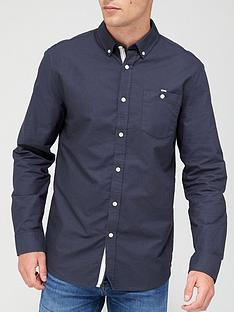 very-man-long-sleeved-oxford-shirt-navy