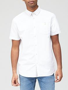 very-man-short-sleeved-oxford-shirt-white