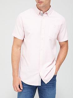 very-man-short-sleeved-oxford-shirt-pink