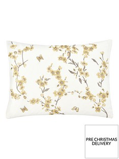 catherine-lansfield-embroidered-blossom-cushion-yellow