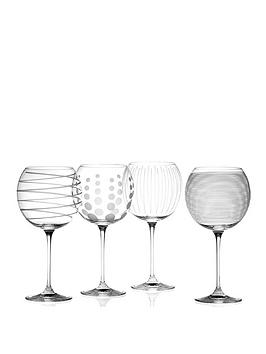 Very Cheers Balloon Glasses &Ndash; Set Of 4 Picture