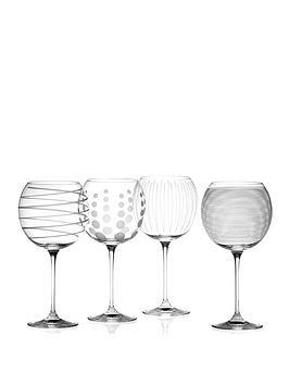 Very  Cheers Balloon Glasses &Ndash; Set Of 4