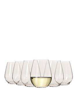Maxwell & Williams Maxwell & Williams Vino Set Of 6 Stemless White Wine  ... Picture