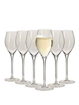 Maxwell & Williams Maxwell & Williams Vino Set Of 6 Prosecco Glasses Picture