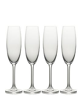 Mikasa Julie Flute Glasses &Ndash; Set Of 4