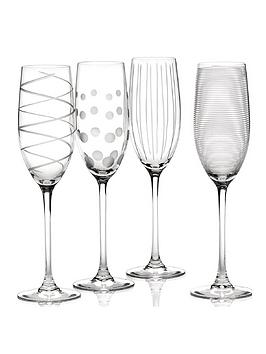 Very  Cheers Flute Glasses &Ndash; Set Of 4
