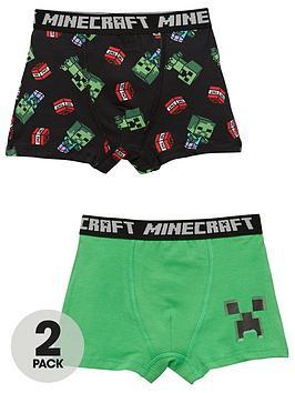 minecraft-boys-minecraft-2-packnbspboxers-multi