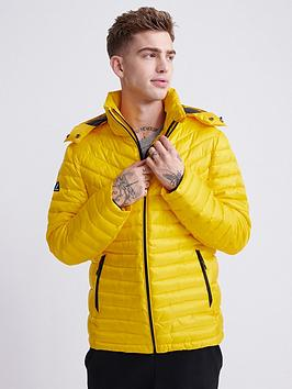 Superdry Superdry Desert Alchemy Fuji Jacket - Yellow Picture