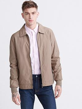 Superdry Superdry Collared Harrington Jacket - Brown Picture
