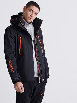 Superdry Superdry Hooded Tech Attacker Jacket - Black Picture