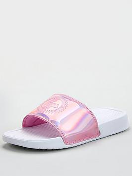 Hype Hype Girls Holographic Sliders - Pink Picture