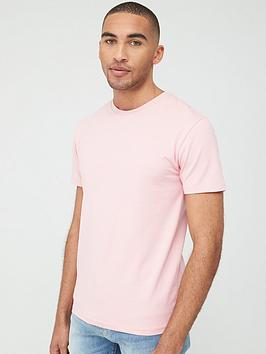 V by Very V By Very Muscle Fit T-Shirt - Pink Picture