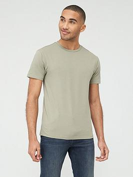 V by Very V By Very Muscle Fit T-Shirt - Khaki Picture