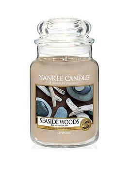 Yankee Candle Yankee Candle Large Jar Candle &Ndash; Seaside Woods Picture