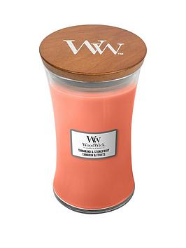 WoodWick Woodwick Large Hourglass Candle &Ndash; Tamarind &Amp; Stonefruit Picture